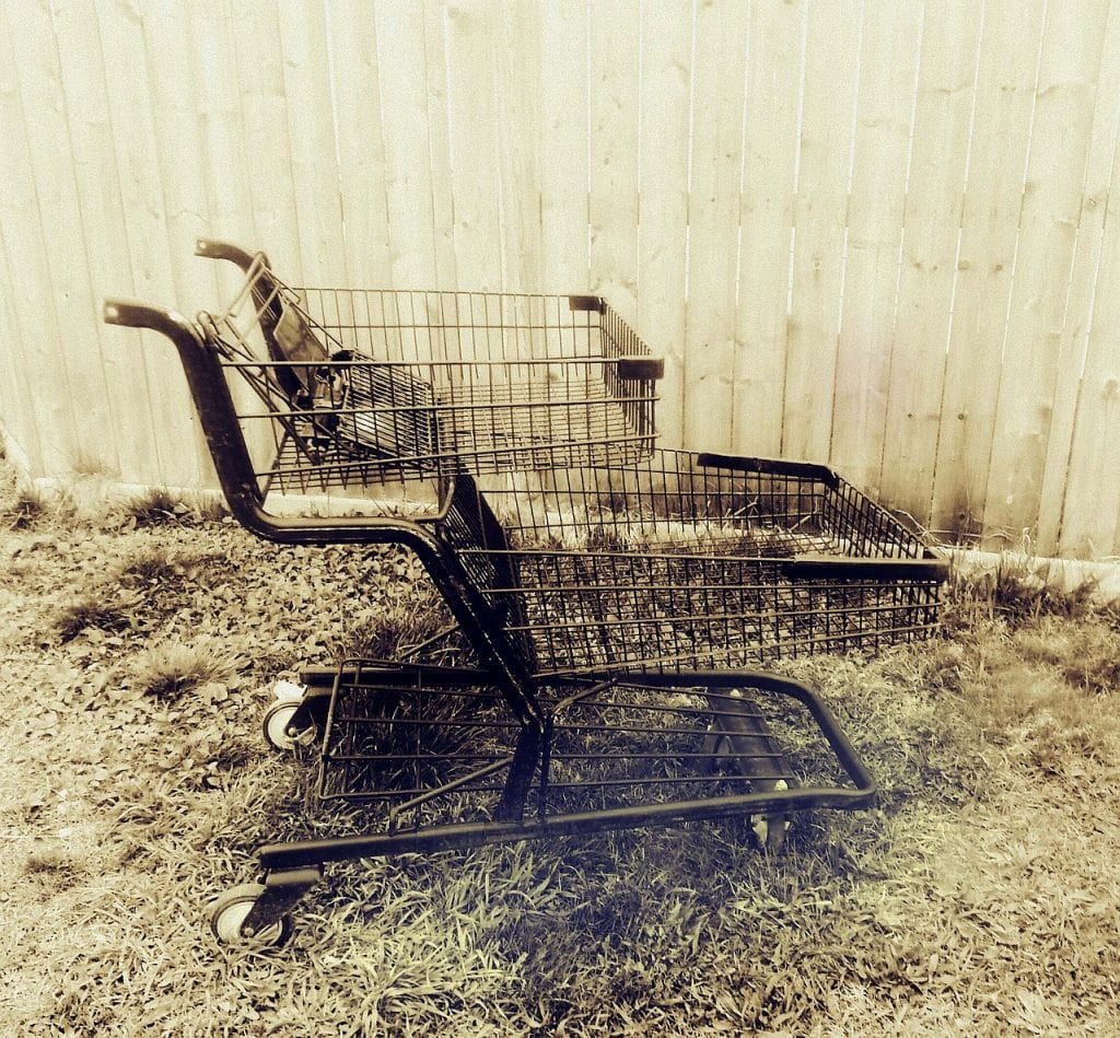 Another casualty of shopping cart abandonment...