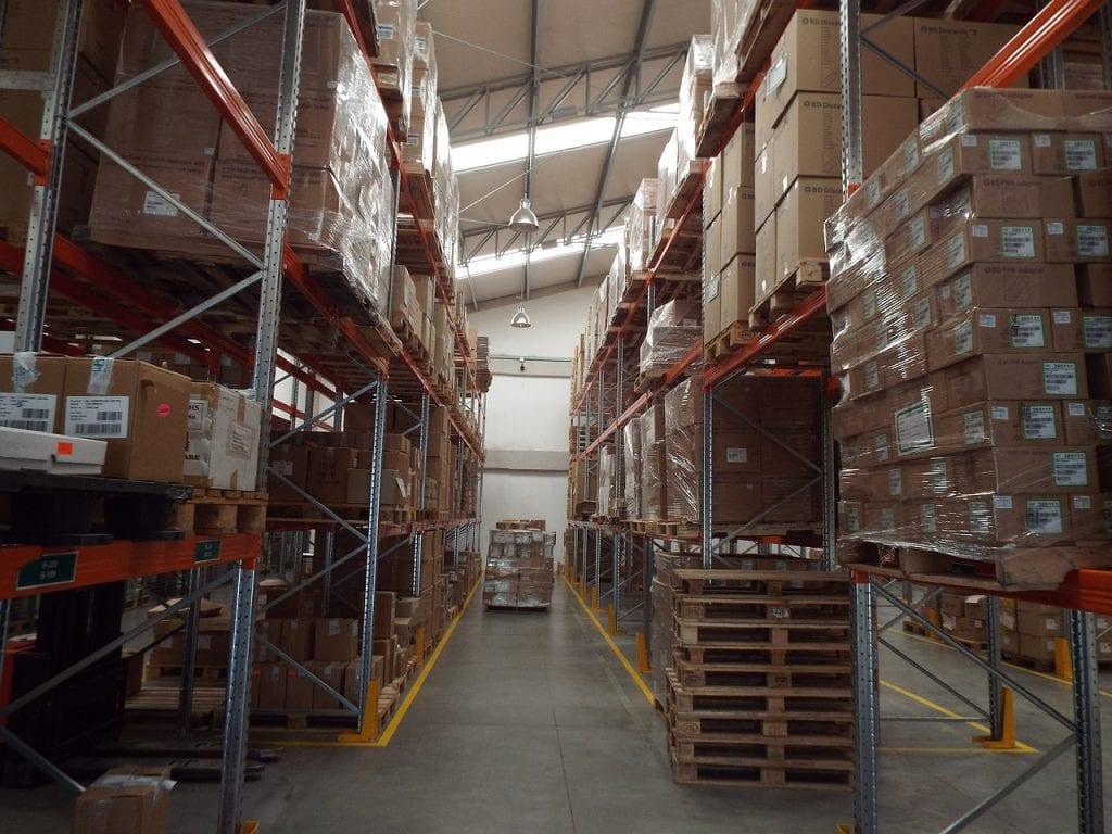 Overstocked Warehouse in Need of Inventory Reduction