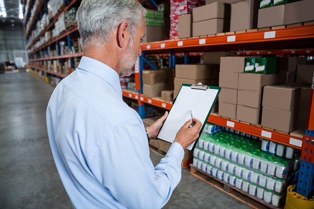Successfully receiving inventory requires a well defined system and organized environment